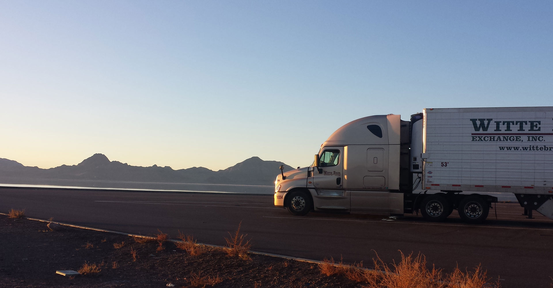Exchange Inc. is your Transportation and Refrigerated Storage Service Solution & Witte Bros. Company | Truck Driving School Refrigerated Trucking ...